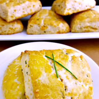 Savory Cheddar and Chive Scones