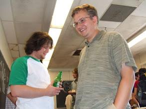 Photo: Mike and Oleg