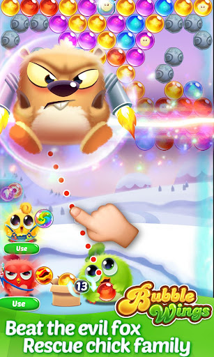 Bubble Wings: offline bubble shooter games apklade screenshots 2