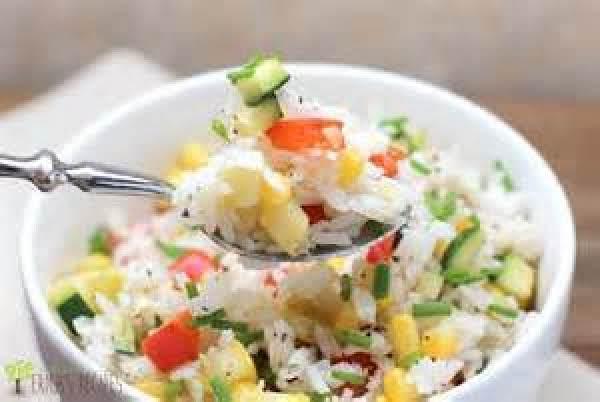 Coconut Confetti Rice