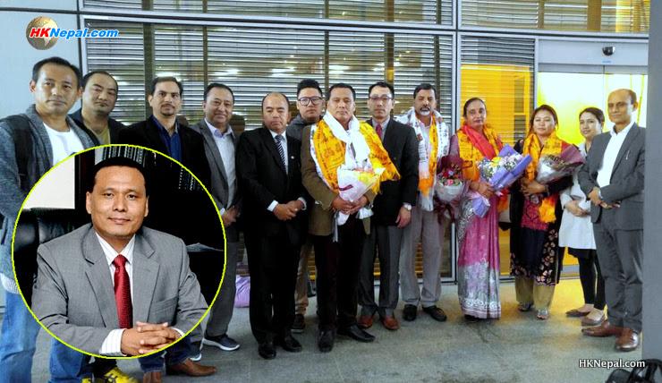 कुलमान घिसिङ र उर्जामन्त्री जनार्दन शर्मा हङकङमा…