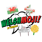 Welshmoji - Welsh stickers