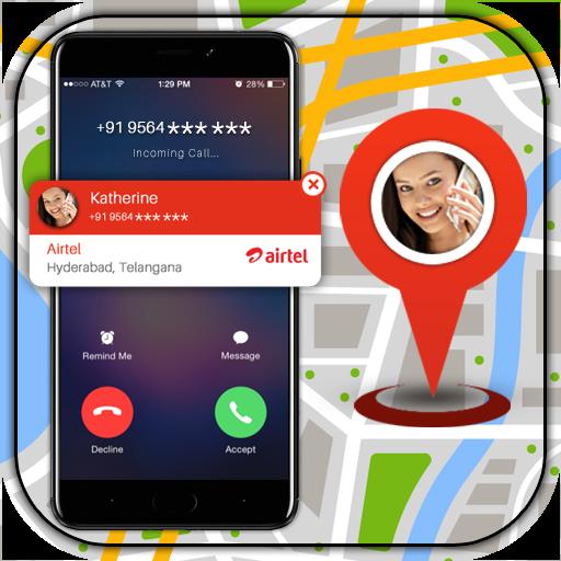 Caller Location Tracker Icon