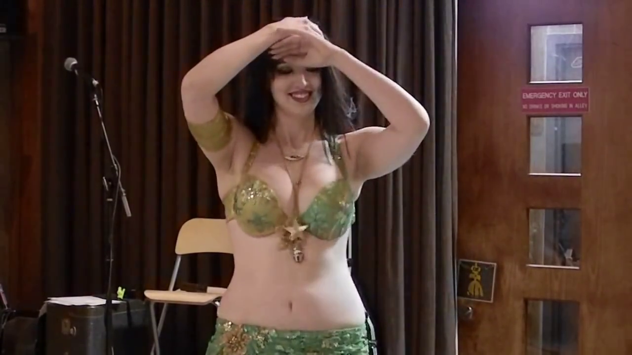 Erotic belly dancing video
