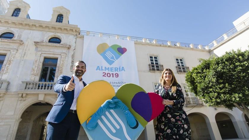 Alcalde y concejal de Promoción tras conocerse la designación de Almería