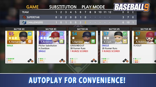 BASEBALL 9 MOD APK (Unlimited Money) 5
