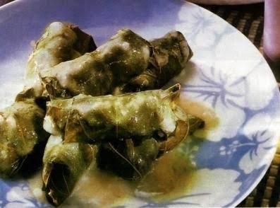 Dolmathakia Avgolemono Meat Stuffed Grape Leave Recipe