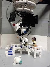 Photo: Another Chell / GLaDOS scene.