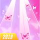 Butterfly Pink Piano Tiles - Magic Girl Kpop Music apk