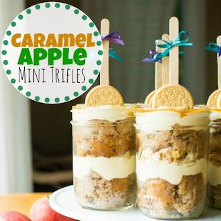 Caramel Apple Mini Trifles.