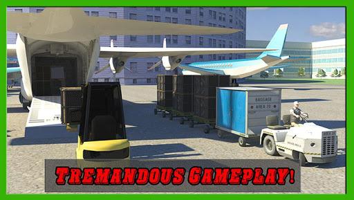 机场货运卡车司机3D