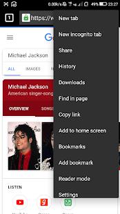 US Browser - náhled