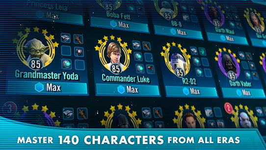 Download Star Wars: Galaxy of Heroes Android Star Wars role-playing game + mod 4