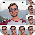Passport Size Photo Maker With Background Changer icon