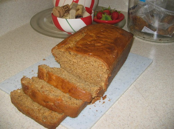 Peanut Butter Bread With Banana Chips Recipe