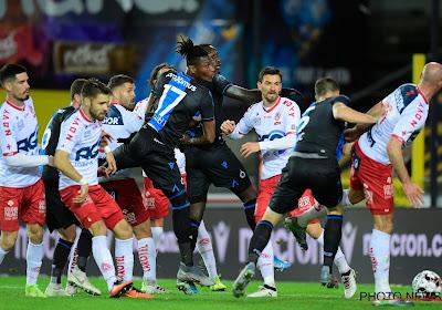 Le Club de Bruges a vu Simon Deli sortir face à Courtrai