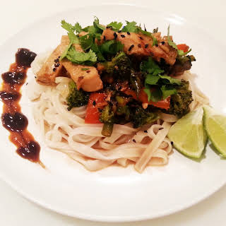 Thai Coconut Lime Stir Fry With Chicken.