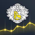 Тинькофф Инвестиции – биржа, брокер, ММВБ, ETF icon