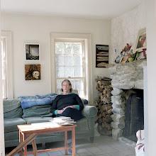 Photo: title: Barbara Sullivan, Solon, Maine date: 2016 relationship: friends, art, met on Facebook via art world Maine years known: 5-10