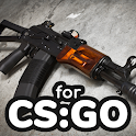 How to draw weapons step by step for CS:GO icon