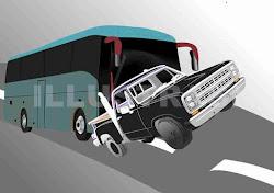 Kecelakaan di Terminal kertonegoro Ngawi