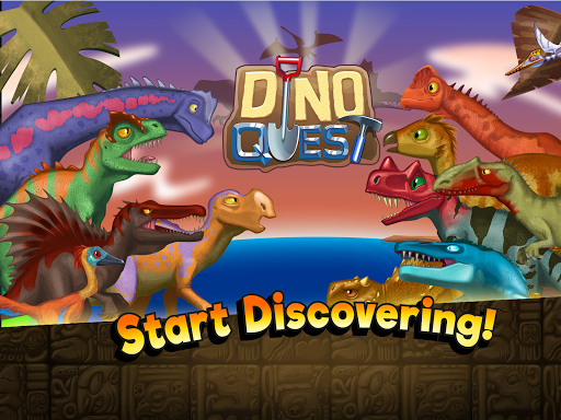 Dino Quest - Dinosaur Discovery and Dig Game apkpoly screenshots 10