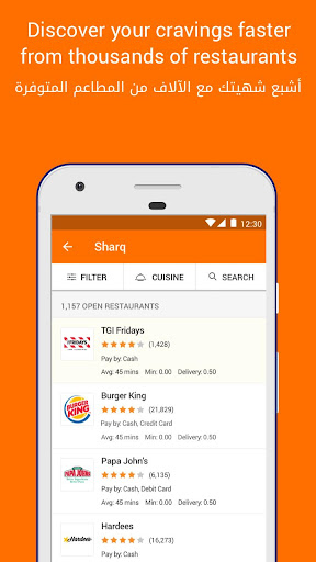 Talabat: Food Delivery 4.9.5 screenshots 3