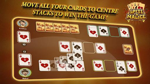 Spite and Malice - Skip Bo Free Wild Card Game apkmr screenshots 10