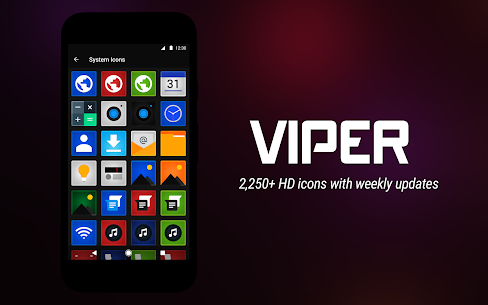 Viper Icon Pack 5.0.0.5 [Premium] Cracked Apk 9