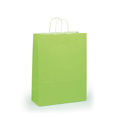 Bärkasse M limegrön