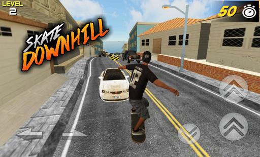 3D Skate DownHill 3 screenshots 6