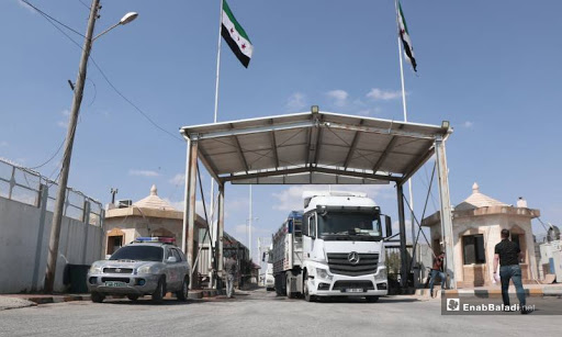 Syrian truck drivers left without work after Turkish drivers are allowed to cross border