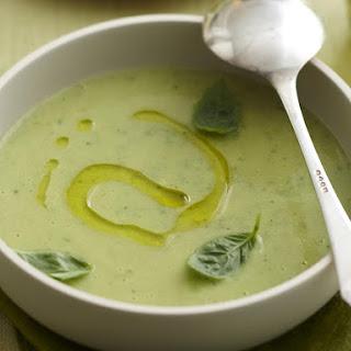 Creamy Zucchini Parmesan Soup