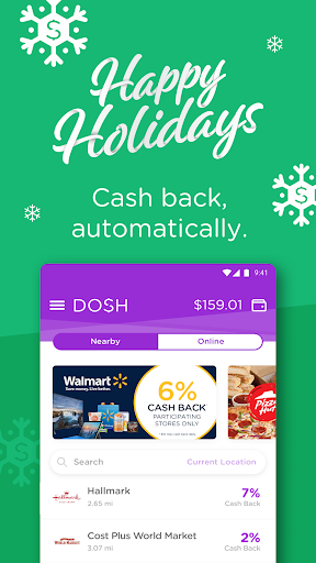 Download Dosh: Automatic Cash Back App for Shopping & Gas