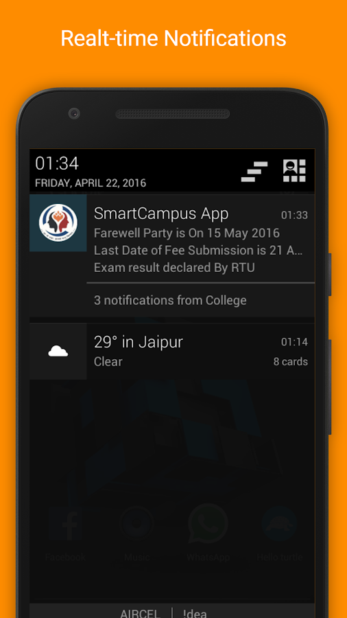 MACERC SmartCampus App- screenshot