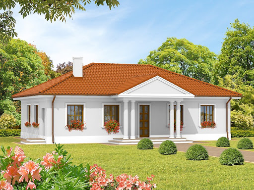 projekt domu Jagódka