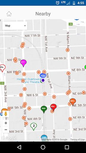 Miami-Dade Transit Tracker Screenshot