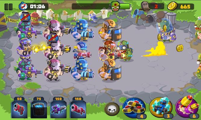 Police vs Zombies - screenshot