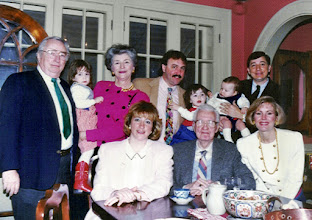 Photo: With the Johnson family--Bud was Dad's nephew.
