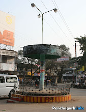 Photo: In the centre of the Panchagarh city