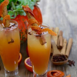 """Fireball"" Cinnamon Apple Cider Fall Cocktails"