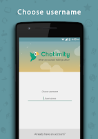 Screenshot of Chatimity Chat Rooms