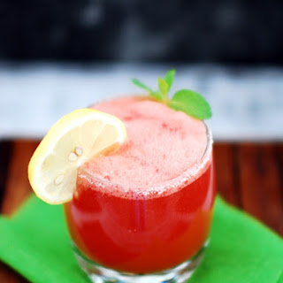 Sweet And Spicy Watermelon Cooler