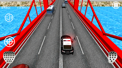 Police Car Racer 3D 11 screenshots 4