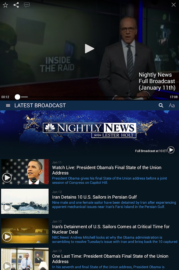 NBC Nightly News- screenshot