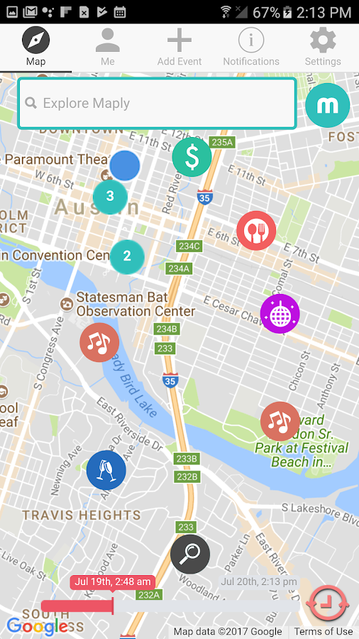 Maply - Local Event Sharing and Discovery- screenshot
