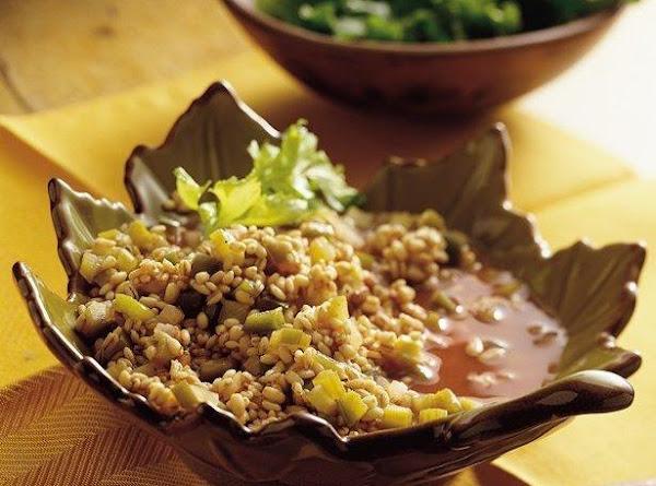 Barley-pine Nut Casserole Recipe