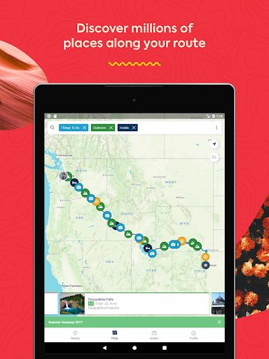 Roadtrippers - Trip Planner screenshot 13