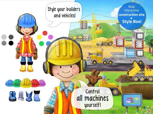 Tiny Builders: Crane, Digger, Bulldozer for Kids  screenshots 8