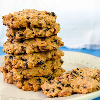Oatmeal Cherry Pecan Cookies